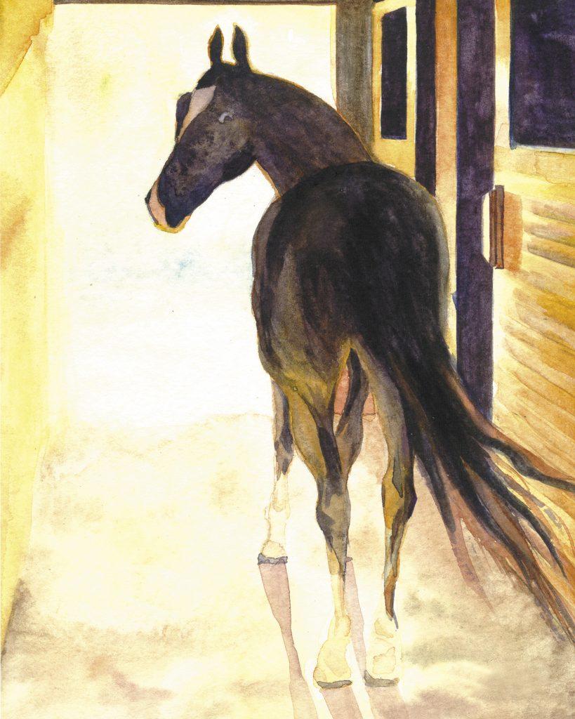 Joanna - watercolor